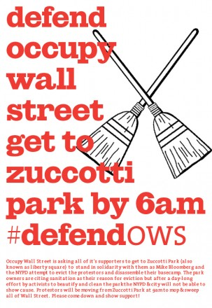 Defend Occupy Wall Street from Eviction!!!