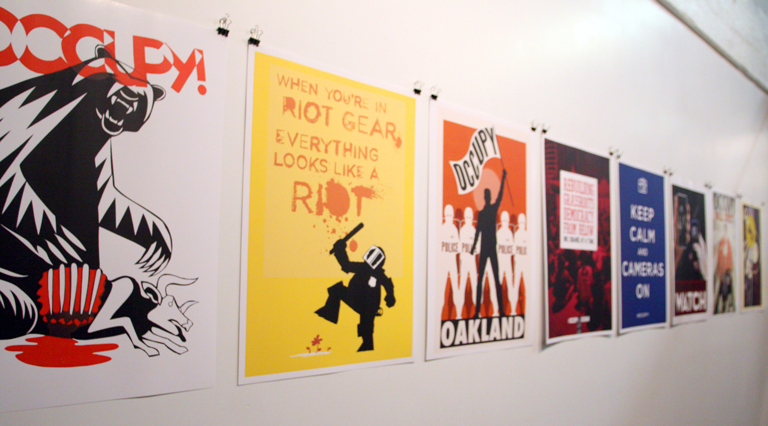 Occuprint & OWS: Notes on Art as a Weapon for Non-Violent ...