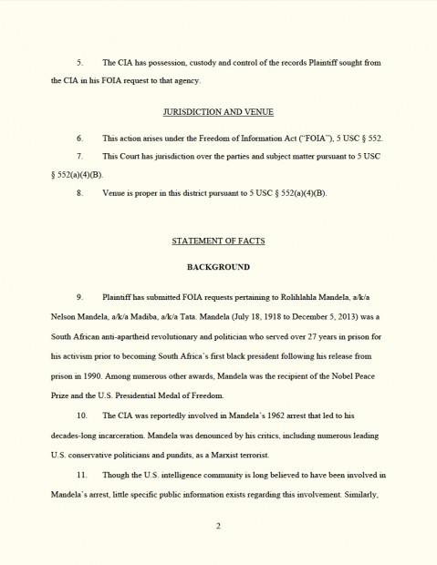 FOIA Lawsuit