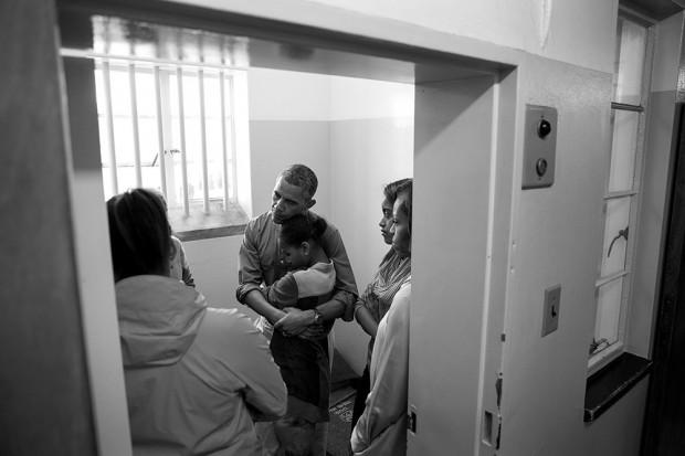 President Obama on Robben Island Prison
