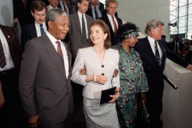 Nelson Mandela 1990 visit
